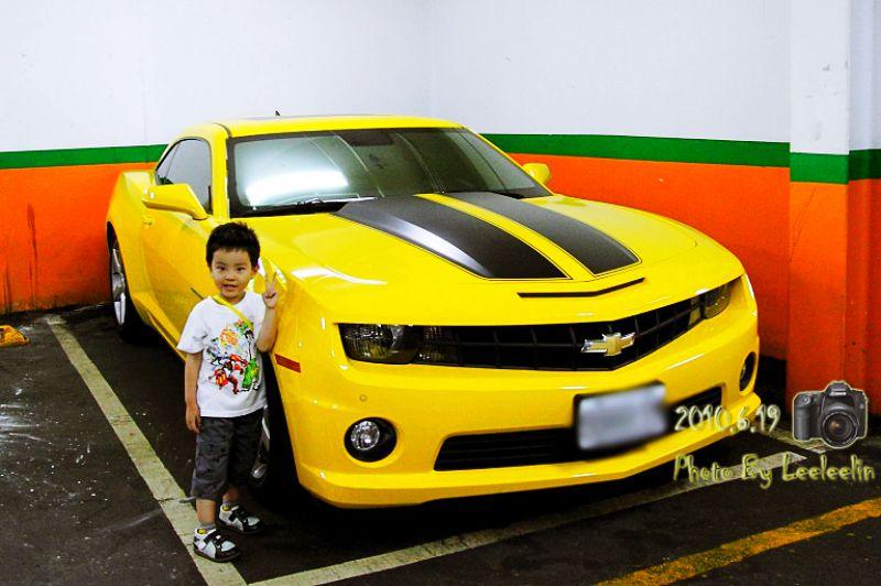 雪佛蘭Chevrolet Camaro真實版變形金剛大黃蜂跑車