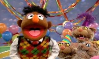 Kingston Livingston III sings A Cat Had a Birthday. Sesame Street Elmo and Abby's Birthday Fun