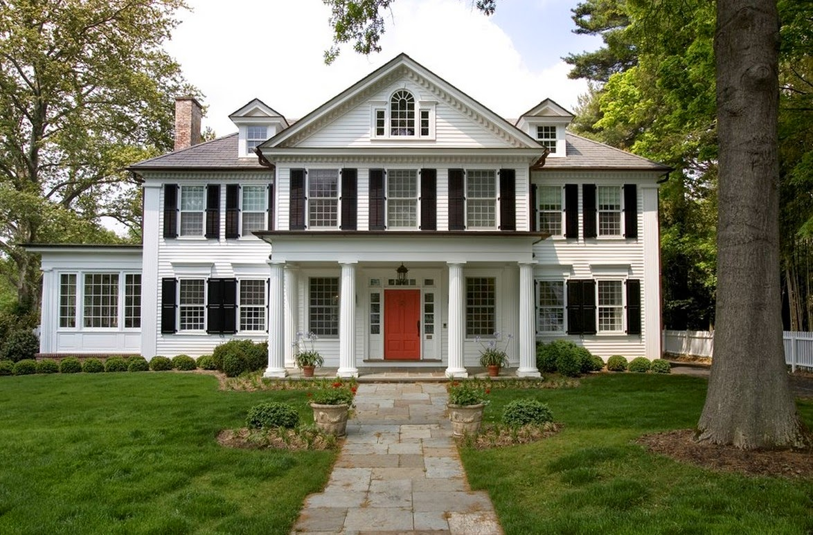 History of interior design american design colonial - Colonial style homes interior ...