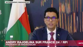 Madagascar's president