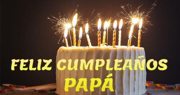 Tartas de Felicitaciones de Cumpleaños para un Padre