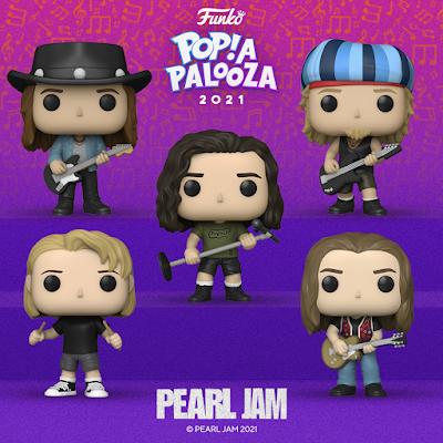 Pearl Jam 30th Anniversary Pop! Vinyl Figure 5 Pack by Funko