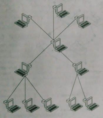 A tree topology