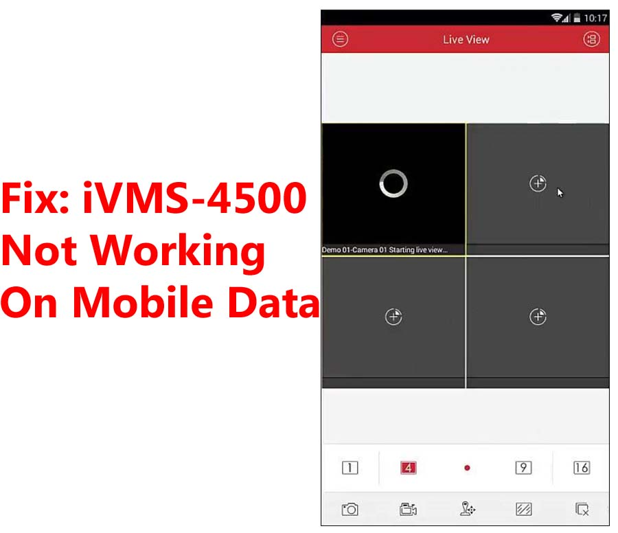 Fix: iVMS-4500 Not Working On Mobile Data (3G, 4G, LTE, 5G)