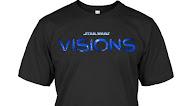 Star Wars Visions Logo T Shirt