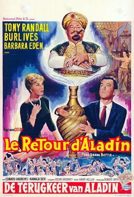The Brass Bottle (1964 film) 13 THE BRASS BOTTLE Sihirli Vazo 1964