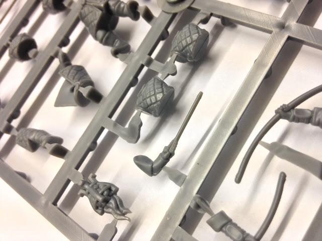 Fireforge Games Forgotten World Plastic Northern Bowmen Soldier Sprue