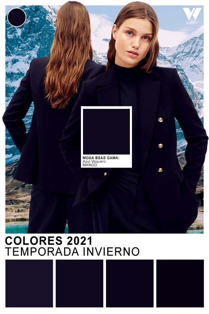 Looks monocromaticos 2021 colores otoño invierno 2021