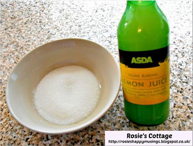 Rosie's Lemon Drizzle Sponge Loaf - lemon juice and sugar to coat the sponge.