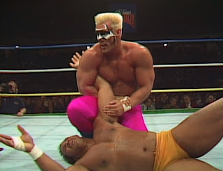 NWA Chi-Town Rumble 1989 - Sting vs. Butch Reed