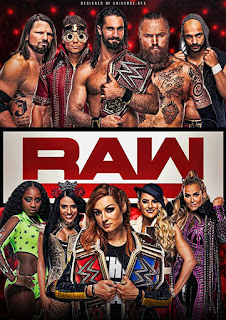 WWE Monday Night Raw 13th July 2020 480p 300Mb HDTV