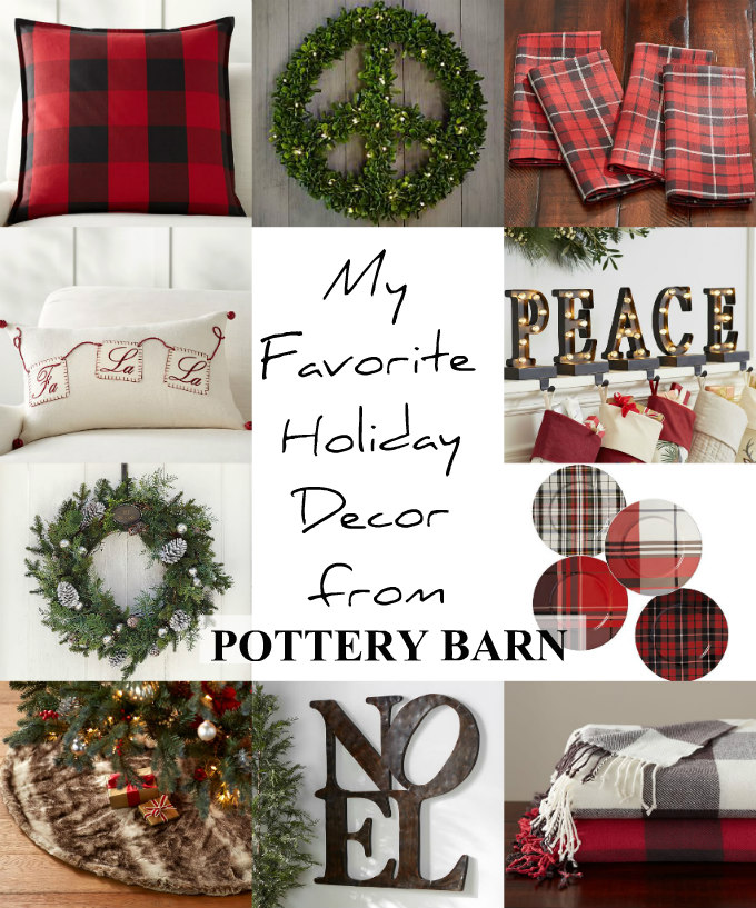 My Favorite Holiday Decor From Pottery Barn The Wicker House
