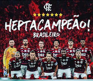 Flamengo é Hepta-Campeão brasileiro e conquista 2º título em menos de 24 h