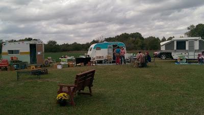 Dexter KS vintage camper show