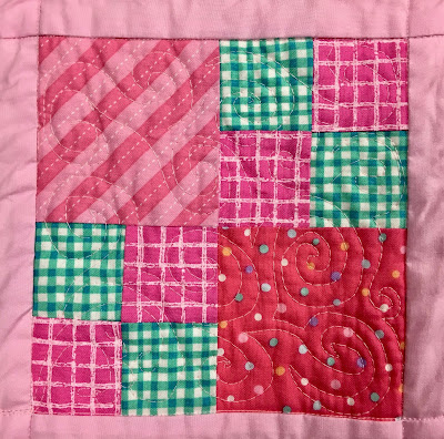 angela walters, quilts for cure, swirl hook, swirl meander, michael miller, aurifil, hobbs batting, free motion meandering, free-motion