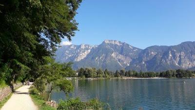 Passeggiate al lago di Levico Terme - Gite a Trento - Vacanze in Trentino