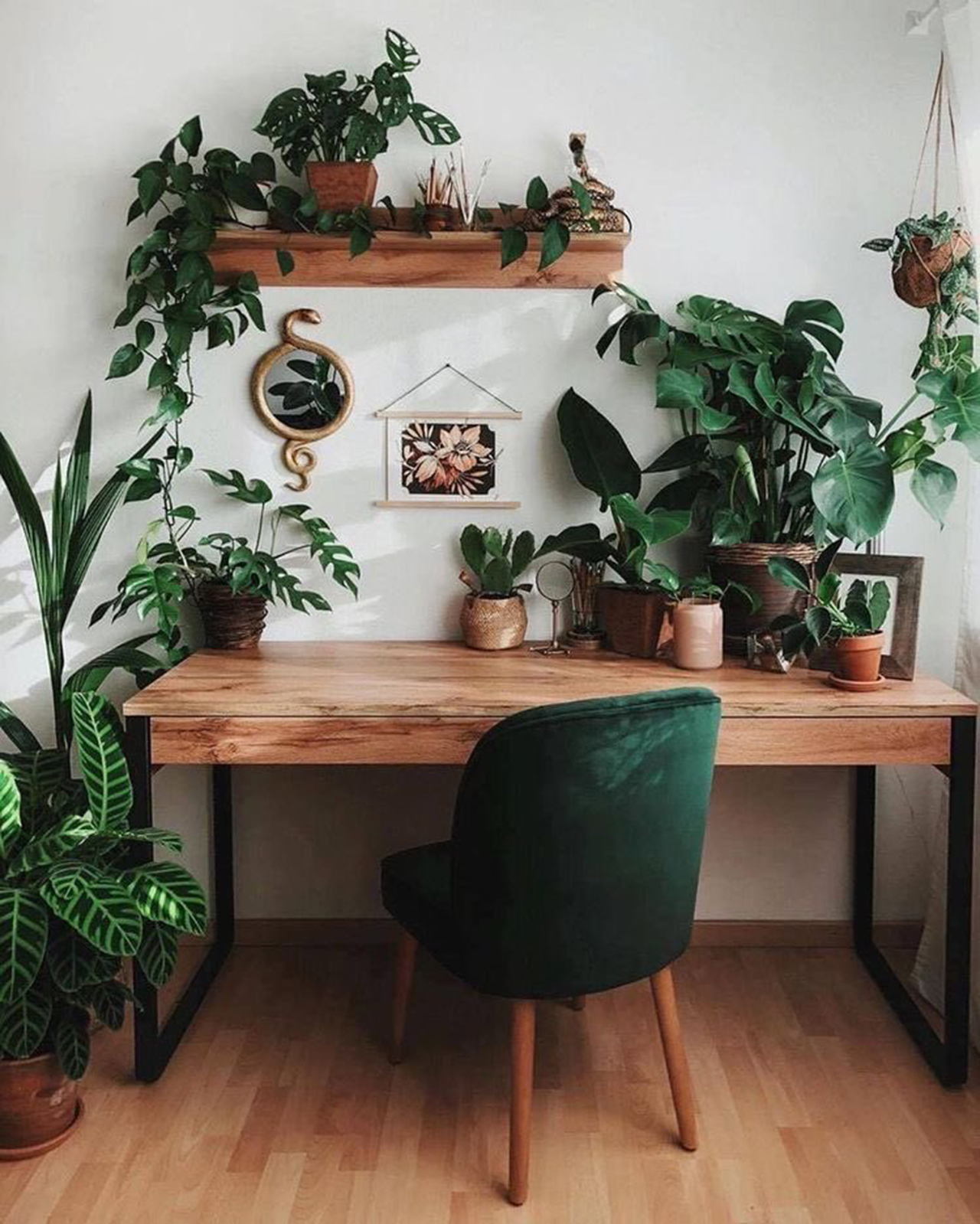 Boho Decor Ideas-Workspace