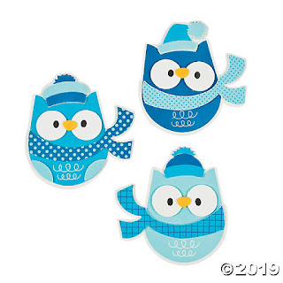 Fun Girl Scout Winter Craft-Owl Magnets