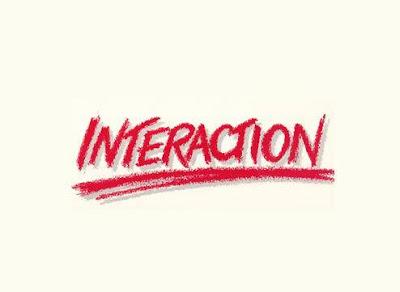 Το λογότυπο του συγκροτήματος Interaction