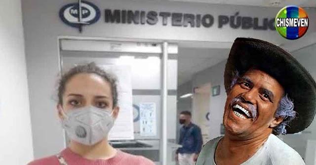 Grecia Augusta formalizó la denuncia de abuso contra Perucho Conde