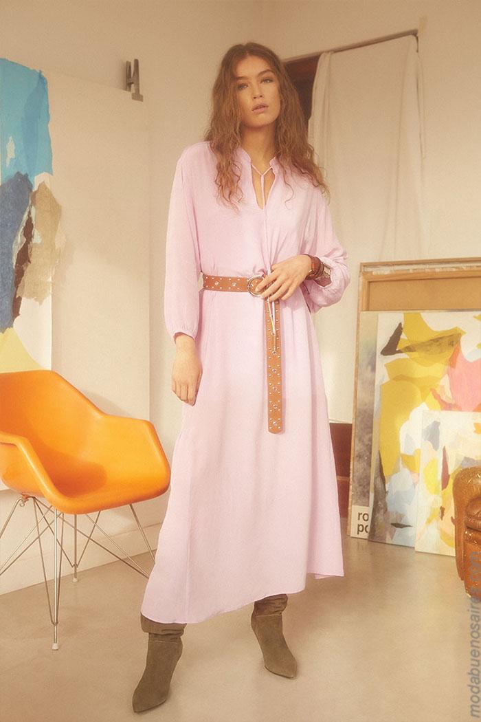 vestidos largos primavera verano 2020 ropa de mujer.
