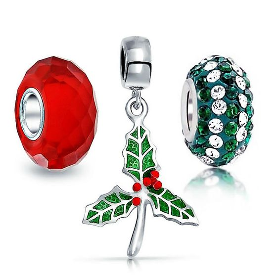 A pair of Christmas-themed accessories.