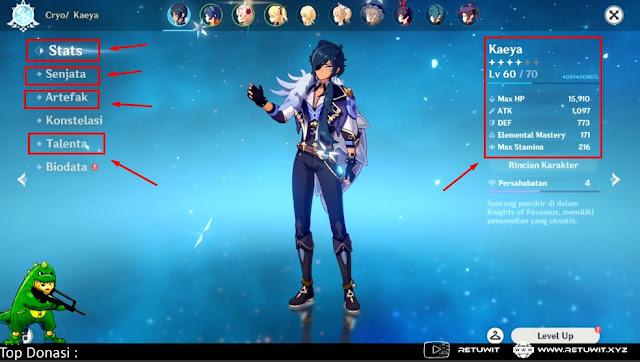 Upgrade hero