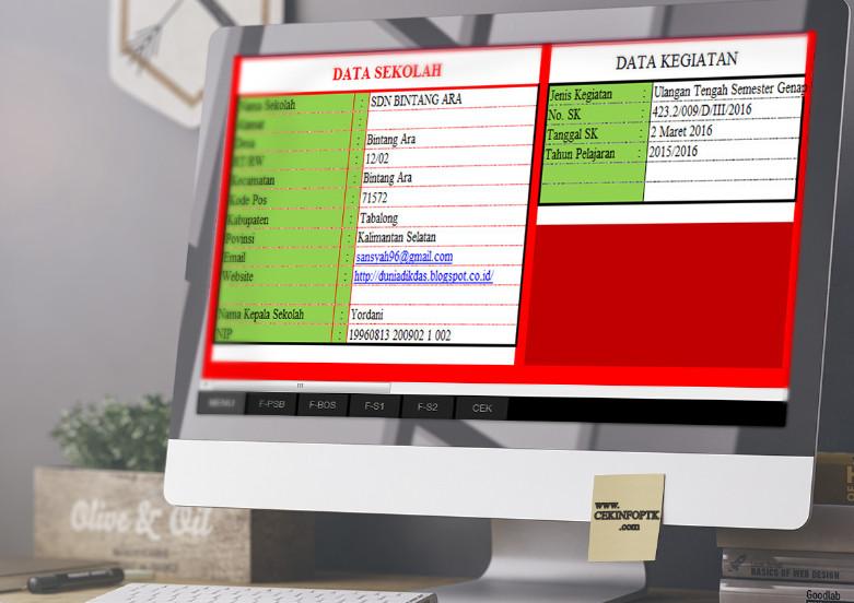 Aplikasi Pembuat SK untuk Kegiatan Sekolah dengan Microsoft Excel