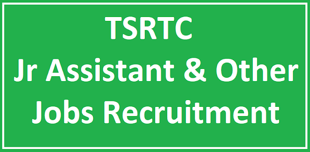 TSRTC Recruitment 2018 – Various Junior Assistant Posts - Apply Online TSRTC Recruitment 2018 - Various Junior Assistant Posts | Apply Online | TSRTC Recruitment 2018 Apply Online for junior assistant posts | TSRTC Recruitment 2018 - 72 Junior Assistant Posts | Apply Now | www.tspsc.gov.in – TSRTC Junior Assistant Notification | 72 TSRTC Junior Assisant Jobs | TSRTC Recruitment 2018 – 72 Junior Assistant Posts Apply @ www.tsrtconline.in | TSRTC Recruitment 2018 Notification for 72 Junior Assistant Posts | Telangana TSRTC Recruitment 2018 for 72 Junior Assistant Posts | TSRTC Junior Assistant Recruitment 2018 | 72 Jr Assistant Posts | Apply Online | TSRTC Recruitment 2018 - 72 Junior Assistant Posts | Apply Online /2018/06/tspsc-tsrtc-junior-assistant-mechanical-traffic-supervisor-trainees-recruitment-notification-educational-qualifications-apply-online-hall-tickets-answer-key-results-download.html