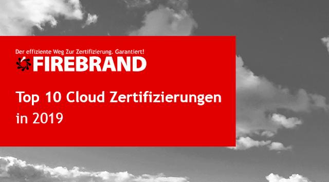 Die 10 besten Cloud Zertifizierungen in 2019