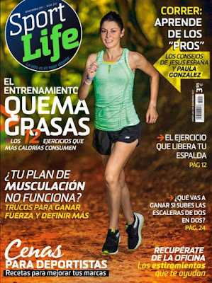 Revista Sport Life España Noviembre 2017
