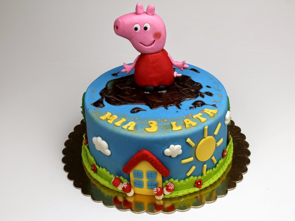 Peppa Pig Birthday Cake Ideas Children S Birthday Cakes