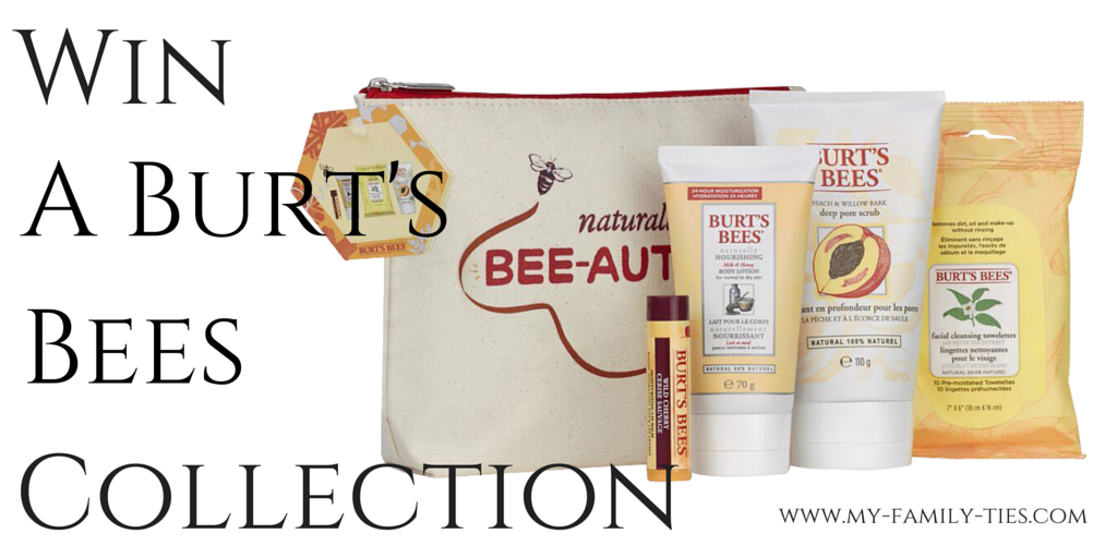 Win A Burt's Bees Collection with Triodos Banking Send A Cow & My Family Ties Blog www.my-family-ties.com