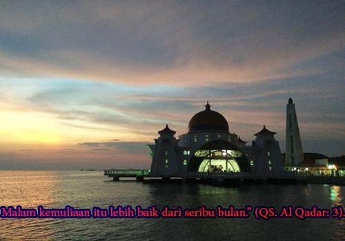Tanda-Tanda Datangnya Malam Lailatul Qadar Menurut Sunnah 2017