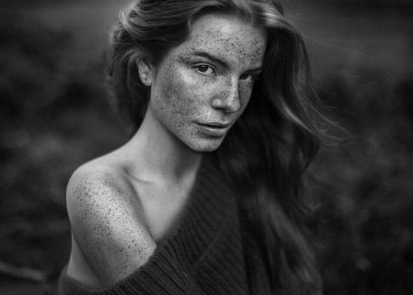 Agata Serge 500px arte fotografia fashion mulheres modelos sardas beleza preto e branco