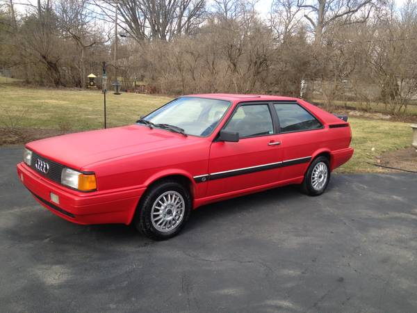 Hard To Find, 1986 Audi Coupe GT