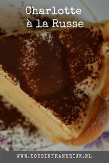 Recept voor Chalotte à la russe. Gezien bij Heel Holland bakt