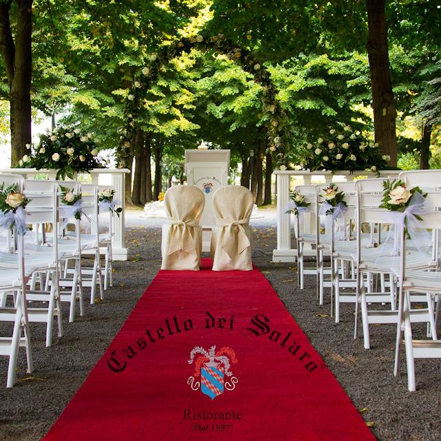 Il matrimonio civile VERO al Castello dei Solaro!