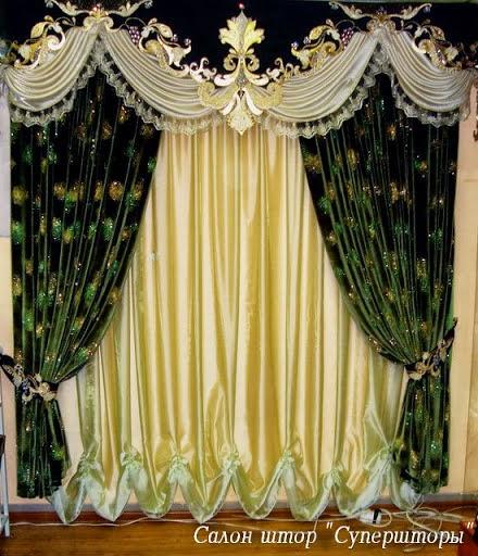 2013 Luxury Living Room Curtains Designs Ideas: Living Room Design Ideas: 10 Top Luxury Drapes Curtain