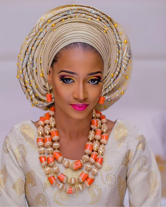 Check Out These Collection of Ankara Styled Geles Photos