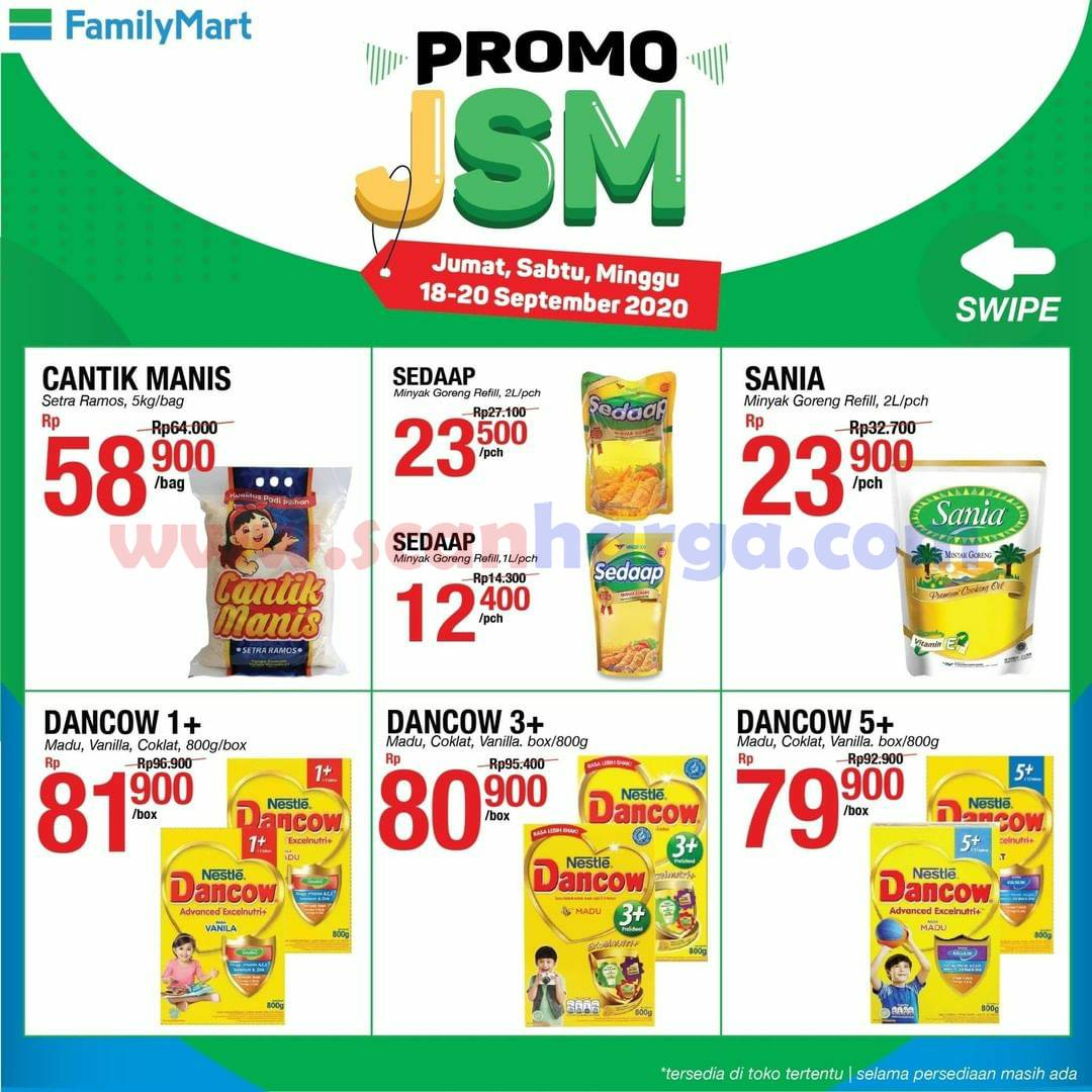 Promo JSM Family Mart Weekend Terbaru 18 - 20 September 2020