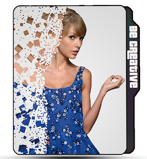 Preview of Taylor Swift photo icon, celebrity, singer, dispersion effect