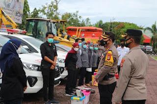 Biro Ops Polda Sulsel Supervisi Ke Polres Pinrang Cek Kesigapan Penanggulan Bencana