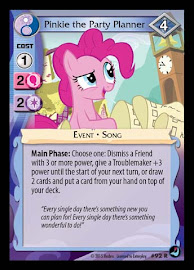 MLP Pinkie the Party Planner High Magic CCG Card