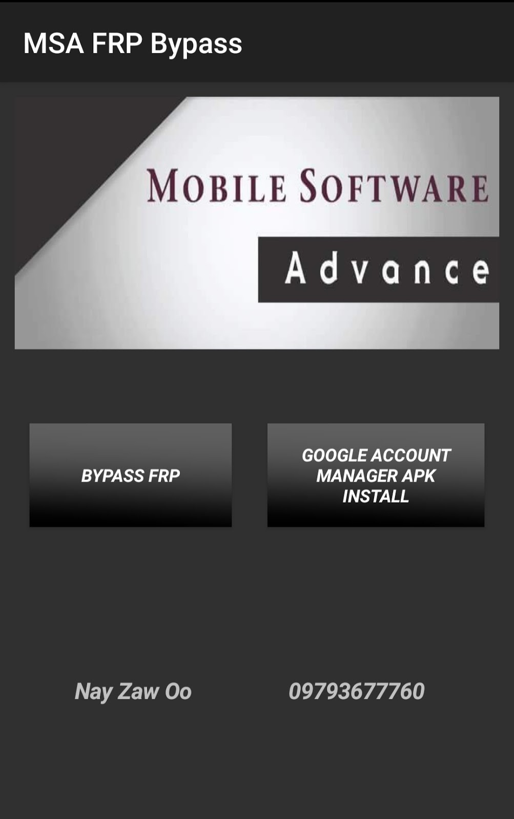 DOWNLOAD MSA FRP BYPASS TOOL FOR ALL SAMSUNG 8 0 TO 9 0 1 BY
