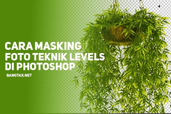 Tutorial Cara Masking Foto Menggunakan Teknik Levels Di Photoshop