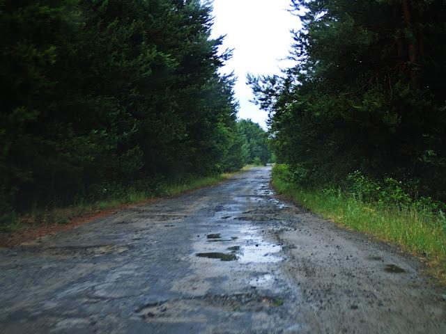 Dziury gdzieś między Szackimi Jeziorami a Ljubomlem