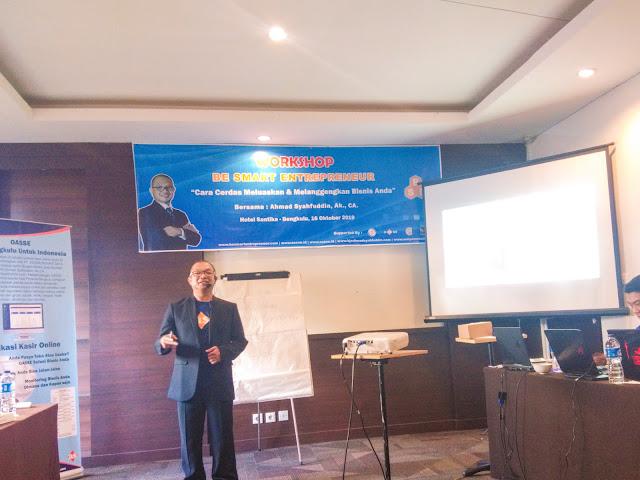 pembicara workshop ahmad syafuddin
