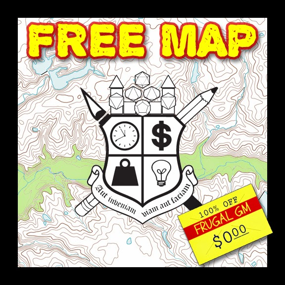 Free Map 029: A Long Underground River