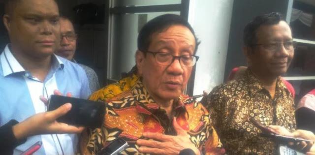 Tak Bawa HMI, Akbar Tanjung Dukung Jokowi Secara Pribadi